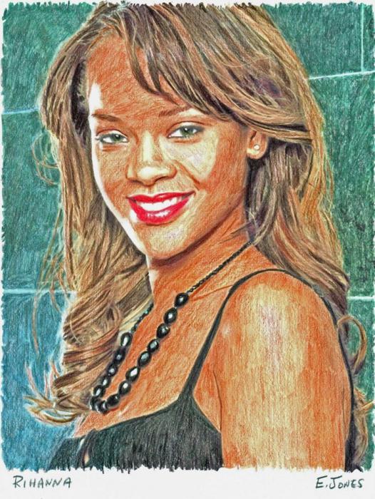Rihanna por jonese